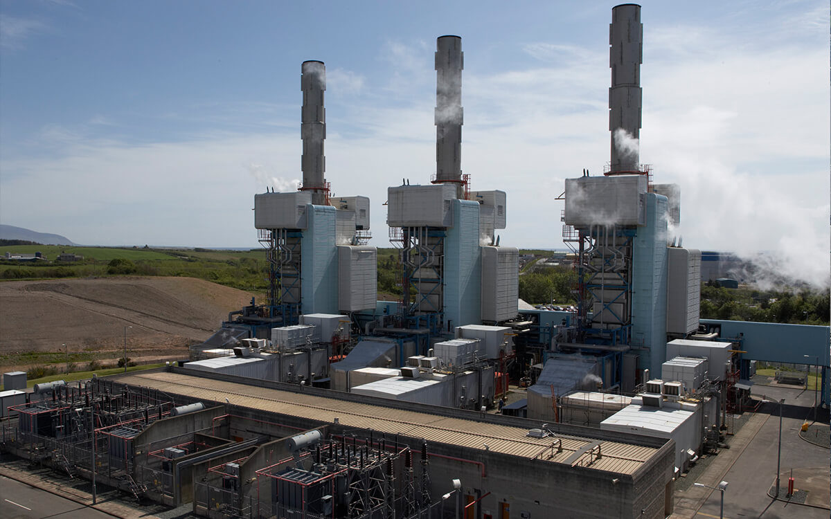 px Group Power Generation Fellside Combined Heat and Power Exterior