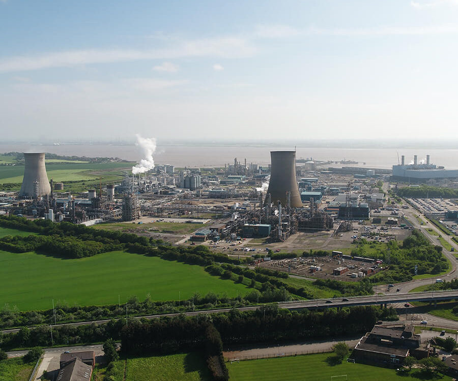 px Group Saltend Chemicals Park Aerial View