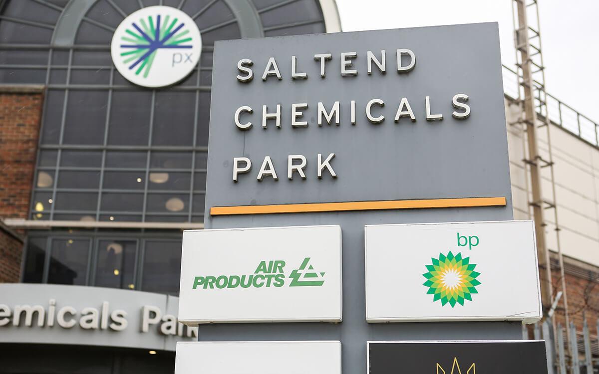 px Group Saltend Chemicals Park Signage